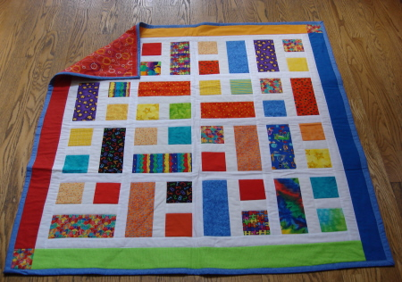Another Scraps Quilt - Arrrgh!!! : kids quilt - Adamdwight.com