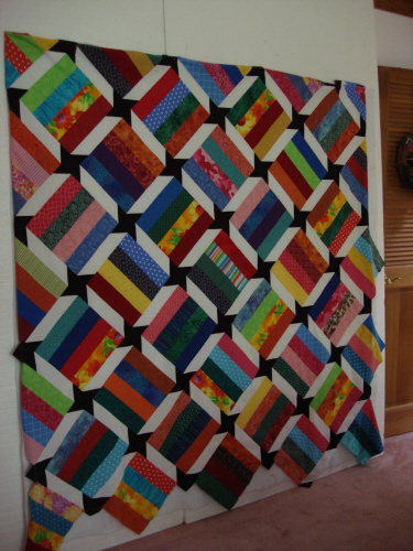 Color Strip Quilt Resized