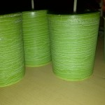 Green Palm Votive made with Polycarbonate Mold